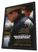 Brokeback Mountain - 11 x 17 Movie Poster - Style A - in Deluxe Wood Frame