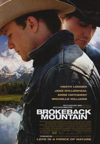 Brokeback Mountain - 43 x 62 Movie Poster - Bus Shelter Style A