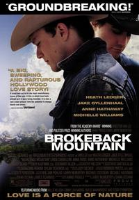 Brokeback Mountain - 43 x 62 Movie Poster - Bus Shelter Style E