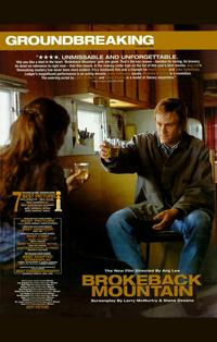 Brokeback Mountain - 11 x 17 Movie Poster - Style S