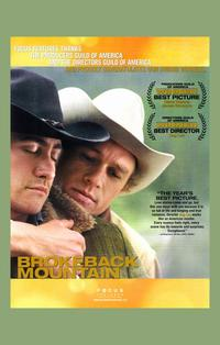 Brokeback Mountain - 11 x 17 Movie Poster - Style V