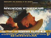 Brokeback Mountain - 11 x 17 Movie Poster - Style W