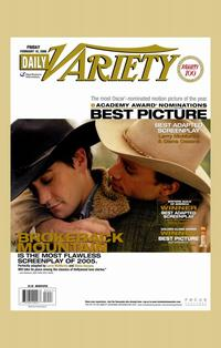 Brokeback Mountain - 11 x 17 Movie Poster - Style X