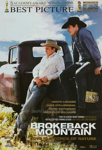 Brokeback Mountain - 27 x 40 Movie Poster - Style H