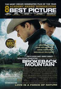 Brokeback Mountain - 27 x 40 Movie Poster - Style I