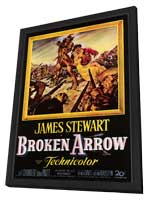 Broken Arrow - 11 x 17 Movie Poster - Style A - in Deluxe Wood Frame