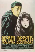 Broken Blossoms or The Yellow Man and the Girl - 11 x 17 Movie Poster - Swedish Style A