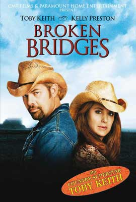 Broken Bridges - 27 x 40 Movie Poster - Style B