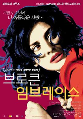 Broken Embraces - 27 x 40 Movie Poster - Korean Style A