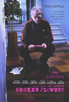 Broken Flowers - 11 x 17 Movie Poster - Style B