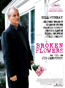 Broken Flowers - 11 x 17 Movie Poster - French Style A