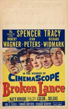 Broken Lance - 11 x 17 Movie Poster - Style B
