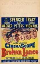 Broken Lance - 27 x 40 Movie Poster - Style B