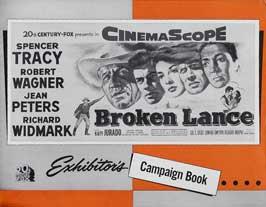 Broken Lance - 22 x 28 Movie Poster - Half Sheet Style A