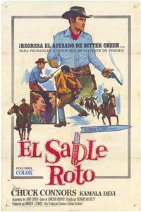 Broken Saber - 11 x 17 Movie Poster - Spanish Style A