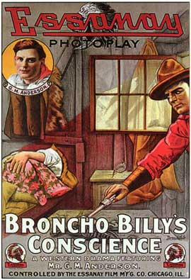Broncho Billy's Conscience - 27 x 40 Movie Poster - Style A