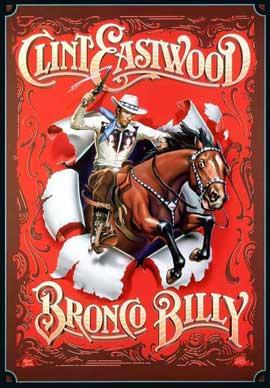 Bronco Billy - 27 x 40 Movie Poster - Style H