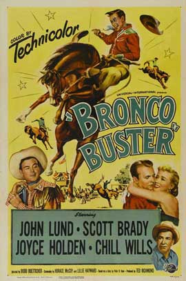 Bronco Buster - 27 x 40 Movie Poster - Style A