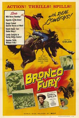 Bronco Fury - 27 x 40 Movie Poster - Style A