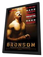 Bronson - 11 x 17 Movie Poster - Canadian Style A - in Deluxe Wood Frame