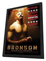 Bronson - 27 x 40 Movie Poster - Canadian Style A - in Deluxe Wood Frame