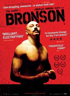 Bronson - 11 x 17 Movie Poster - Danish Style A