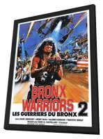 Bronx Warriors 2 - 11 x 17 Movie Poster - Style A - in Deluxe Wood Frame