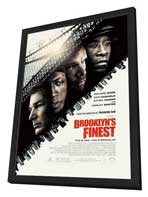 Brooklyn's Finest - 27 x 40 Movie Poster - Style A - in Deluxe Wood Frame