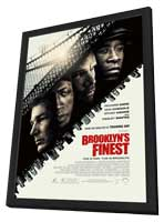 Brooklyn's Finest - 11 x 17 Movie Poster - Style A - in Deluxe Wood Frame