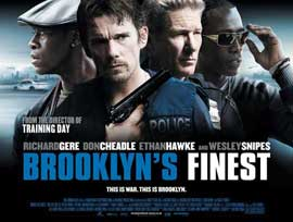 Brooklyn's Finest - 11 x 17 Movie Poster - UK Style A