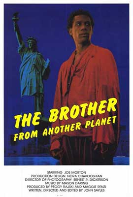 The Brother from Another Planet - 27 x 40 Movie Poster - Style B