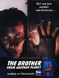 The Brother from Another Planet - 43 x 62 Movie Poster - Bus Shelter Style A