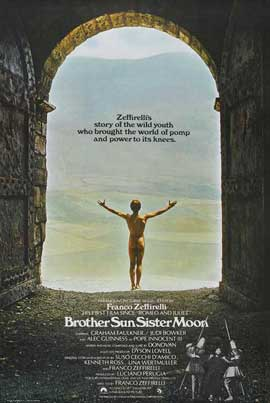 Brother Sun, Sister Moon - 11 x 17 Movie Poster - UK Style A