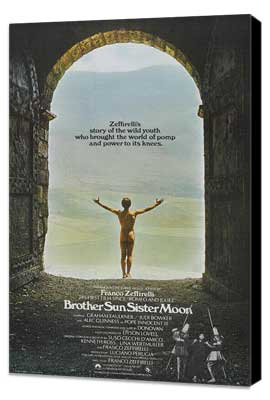 Brother Sun, Sister Moon - 11 x 17 Movie Poster - UK Style A - Museum Wrapped Canvas
