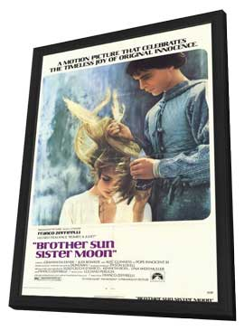 Brother Sun, Sister Moon - 11 x 17 Movie Poster - Style A - in Deluxe Wood Frame