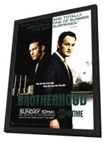 Brotherhood (TV) - 11 x 17 TV Poster - Style A - in Deluxe Wood Frame