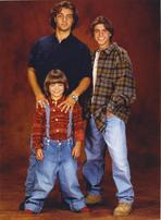 Brotherly Love - Brotherly Love Cast Men wearing Denim Jeans