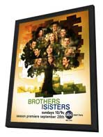 Brothers & Sisters (TV) - 27 x 40 TV Poster - Style B - in Deluxe Wood Frame