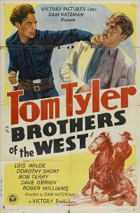Brothers of the West - 27 x 40 Movie Poster - Style A