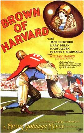 Brown of Harvard - 11 x 17 Movie Poster - Style A