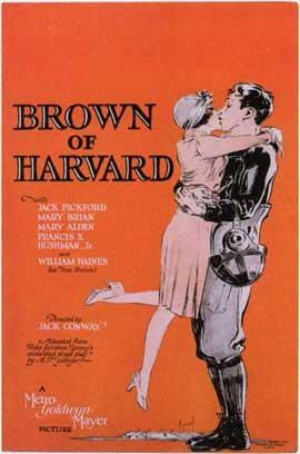 Brown of Harvard - 11 x 17 Movie Poster - Style B