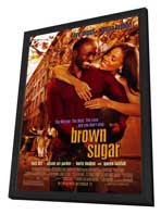 Brown Sugar - 27 x 40 Movie Poster - Style A - in Deluxe Wood Frame