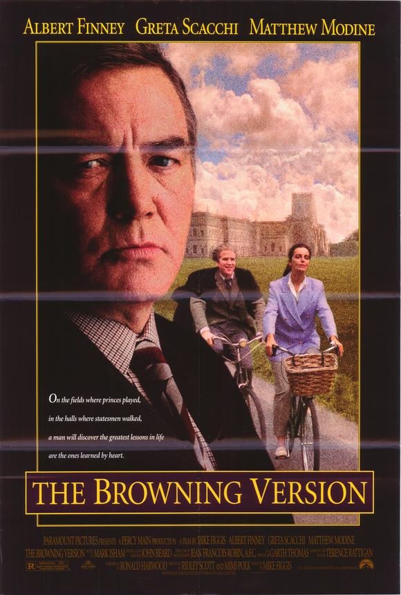 a review of the browning version film Home the browning version the browning version mon 3 mar 1952 venue central library address st peters square manchester m2 5pd  film review.