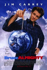 Bruce Almighty - 27 x 40 Movie Poster - Style A