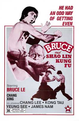 Bruce and Shao-lin Kung Fu - 27 x 40 Movie Poster - Style A