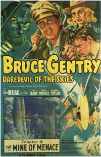 Bruce Gentry - 43 x 62 Movie Poster - Bus Shelter Style A