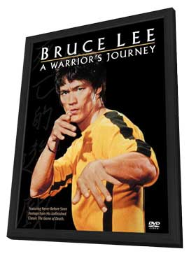 Bruce Lee: A Warrior's Journey - 27 x 40 Movie Poster - Style A - in Deluxe Wood Frame