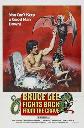 Bruce Lee Fights Back from the Grave - 11 x 17 Movie Poster - Style A