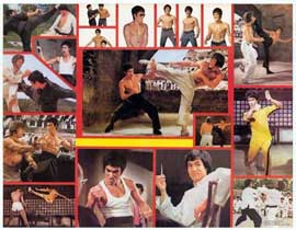 Bruce Lee - 11 x 14 Movie Poster - Style A