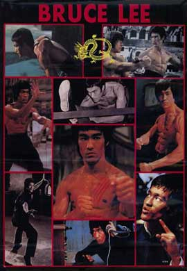 Bruce Lee - 11 x 17 Movie Poster - Style A